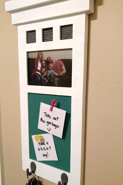 Turn a thrift store find into a fun message board makeover!