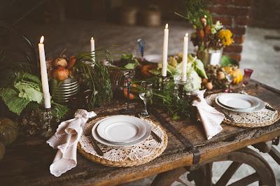 allestimento matrimonio autunno