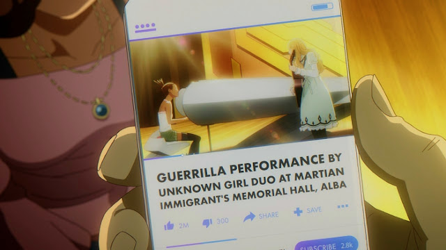 Carole & Tuesday Guerrilla Performance
