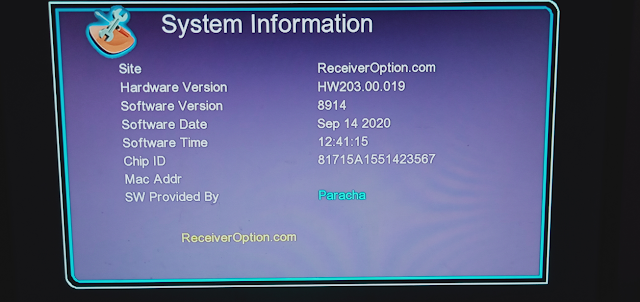 GX6605S HW203.00.019 HD RECEIVER NEW SOFTWARE WITH NEW THEME