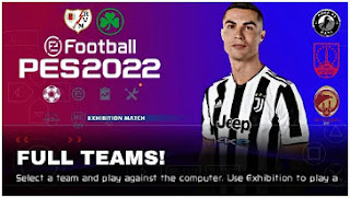Download FULL!! PES 2022 PPSSPP CV2 English Commentary Liga Indonesia & Promotion Teams Update