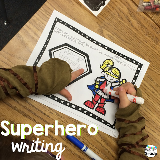 Giving students creativity allows them to become engaged in their writing and keeps them on task