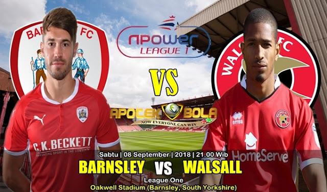 Prediksi Barnsley Vs Walsall 8 September 2018