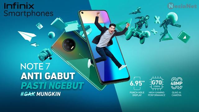 Jual Infinix Smartphones 100% Baru, Ori, Garansi Resmi, Gratis Ongkir Mataram Lombok NTB