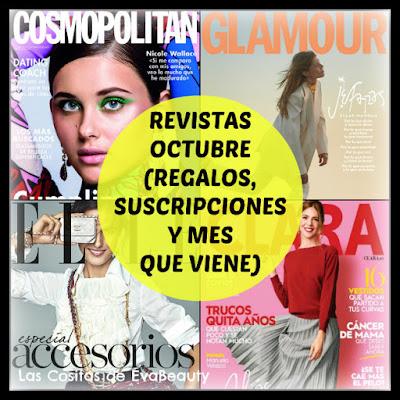Revistas Octubre 2020 (Regalos, Suscripciones y mes que viene)