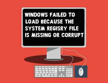 Fix Windows Failed to Load Because the System Registry File is Missing or Corrupt