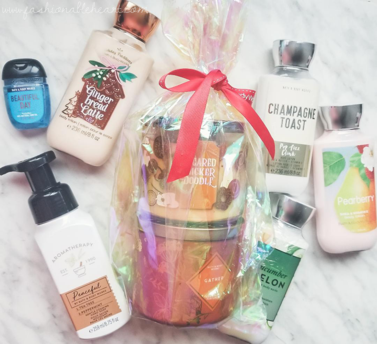 bloggersca, bbloggerca, lbloggers, lifestyle blog, canadian blog, southern blogger, what i got for christmas, 2019, gifts, christmas gifts, holiday gifts, bath and body works, lotion, soap, antibacterial gel, candles, sugared snickerdoodle, gather, gingerbread latte, champagne toast, cucumber melon, pearberry, peaceful, beautiful day