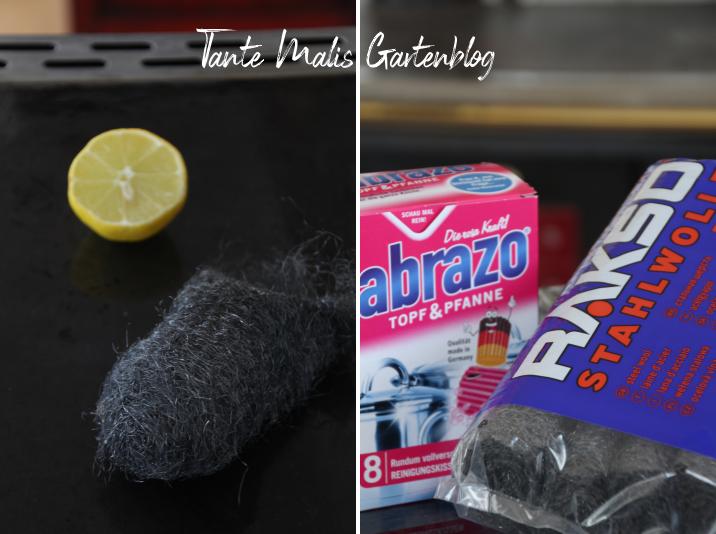 Küchenherd reinigen