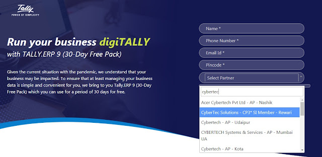 30 days free tally erp 9 license download form