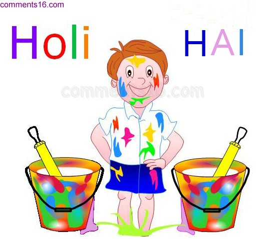 happy holi animated images