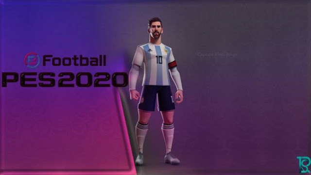 Start Screen PES 2017 Messi eFootball PES 2020 by Fenorass