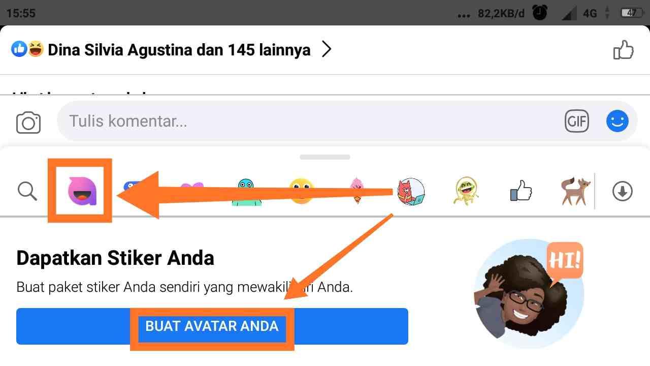 avatar fb app