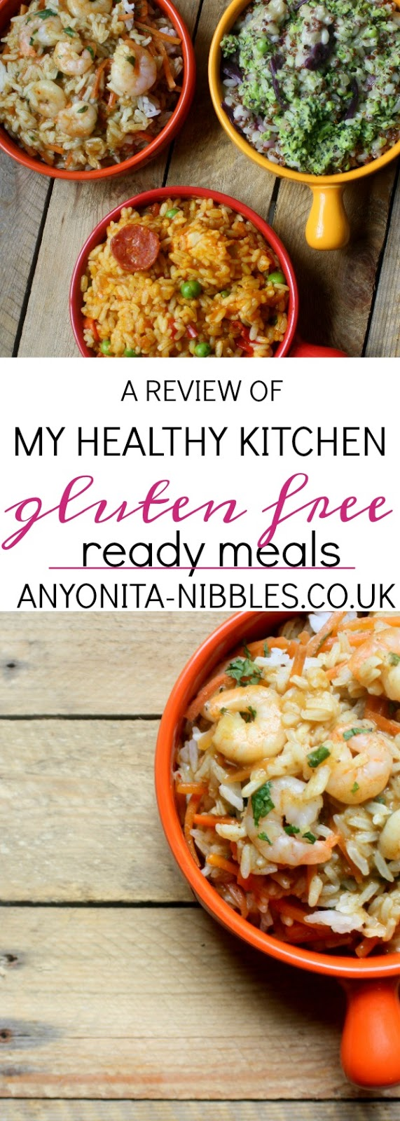 A Reveiw of My Healthy Ktichen Gluten Free Ready Meals