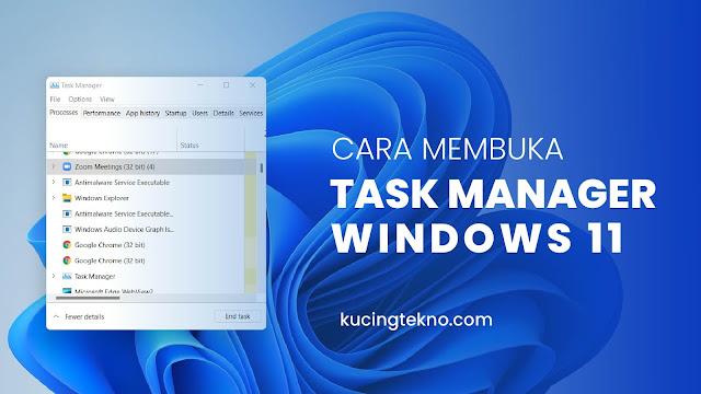 Cara Membuka Task Manager di Windows 11