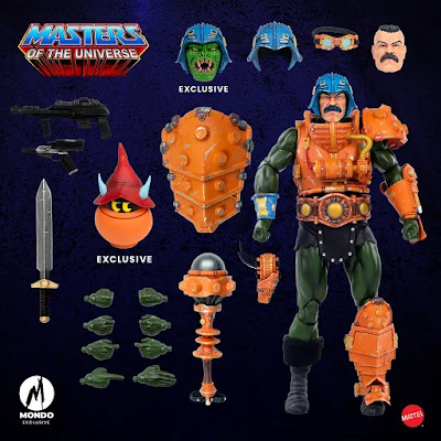 Masters of the Universe Man-At-Arms 1/6 Scale Figure by Mondo