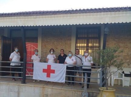 Θερμομέτρηση από τον Ερυθρό Σταυρό  Άργους στην εθελοντική αιμοδοσία του Συλλόγου «ΔΕΣΜΟΙ ΑΙΜΑΤΟΣ»