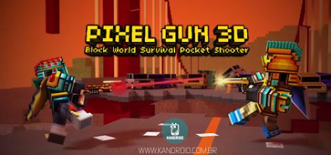 Pixel Gun 3D v12.2.1 Apk + Data Mod [Dinheiro / Desbloqueado]