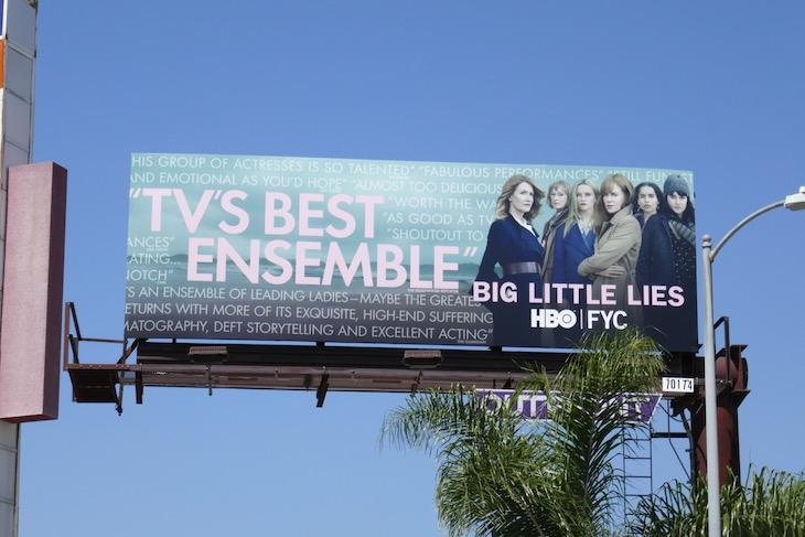 Big Little Lies 2020 Emmy FYC billboard