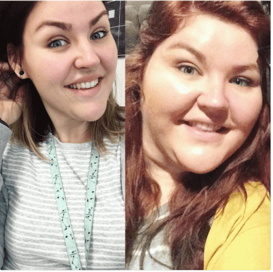 Teacher documents amazing weight-loss journey through Instagram