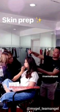 Behind The Scene Footages Of Angel Locsin's Newest Beauty Campaign Shoot Goes Viral