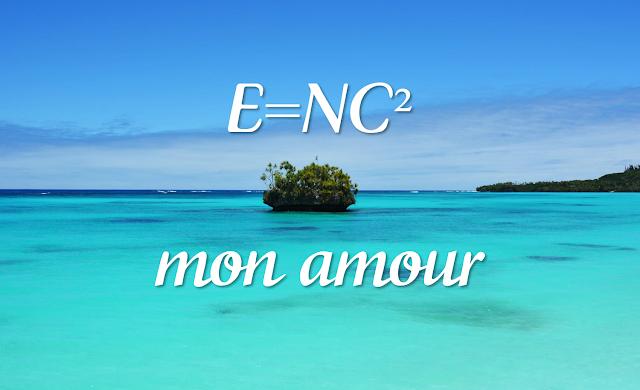 E=NC2 nouvelle Caledonie blog Singapore plage beach blue water
