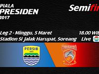 Persib vs PBFC, Semifinal Leg 2 Piala Presiden 2017