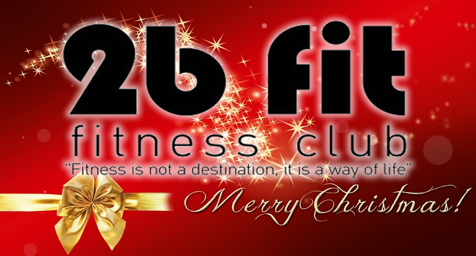Τα Γυμναστήρια 2b fit σας εύχονται Χρόνια Πολλά