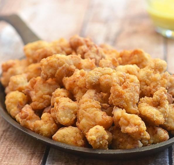 Recipe Crispy Popcorn Chicken #dinner #easydinner