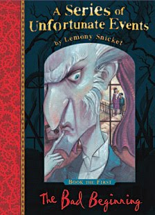 Series of unfortunate events book covers