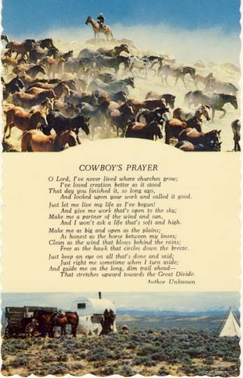 Ode To Cowboys