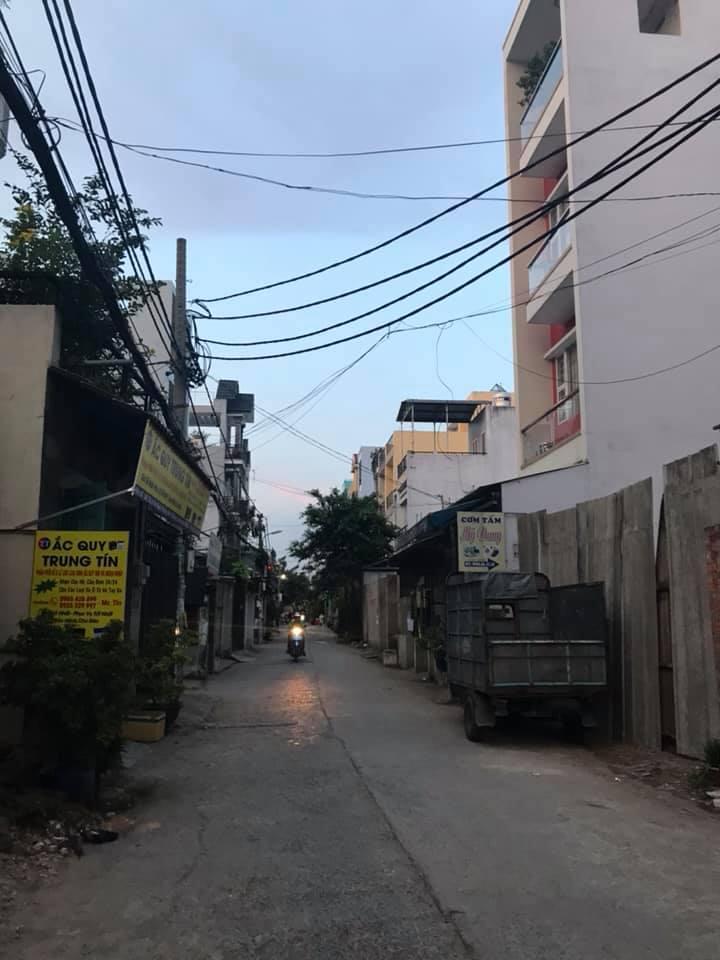 Bán nhà hẻm 441 Lê Văn Quới phường Bình Trị Đông A quận Bình Tân. DT 4x16m