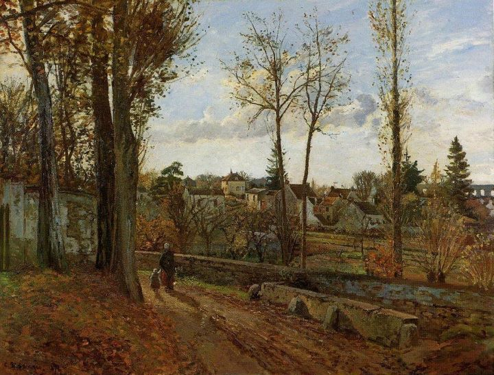 Jacob Camille Pissarro 1830-1903 | French Impressionist painter