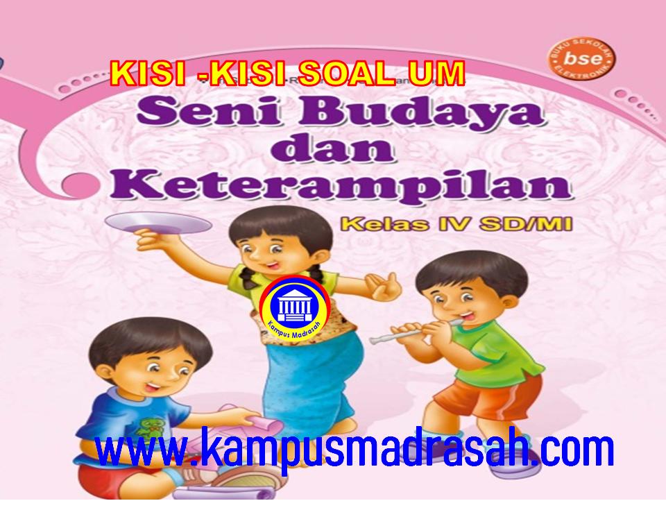 Kisi-kisi Soal Ujian Madrasah Mapel SBdP