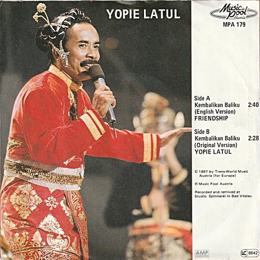 Yopie Latul dan Lagu-lagunya Yang Berjaya