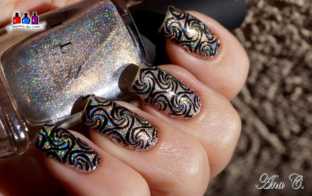 ILNP, sunday brunch,  ultra holo, color kissed ultra holos, Lina Feeling Shapely 03