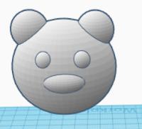 Teddy Bear's muzzle