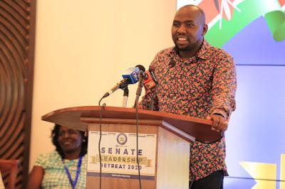 Senate majority leader Kipchumba Murkomen.