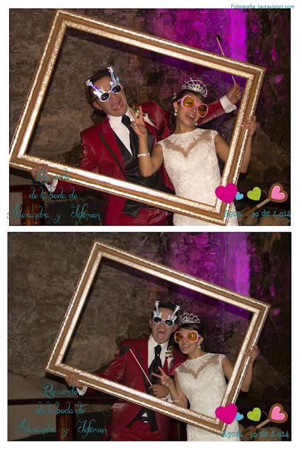 Fotocabinas en los matrimonios