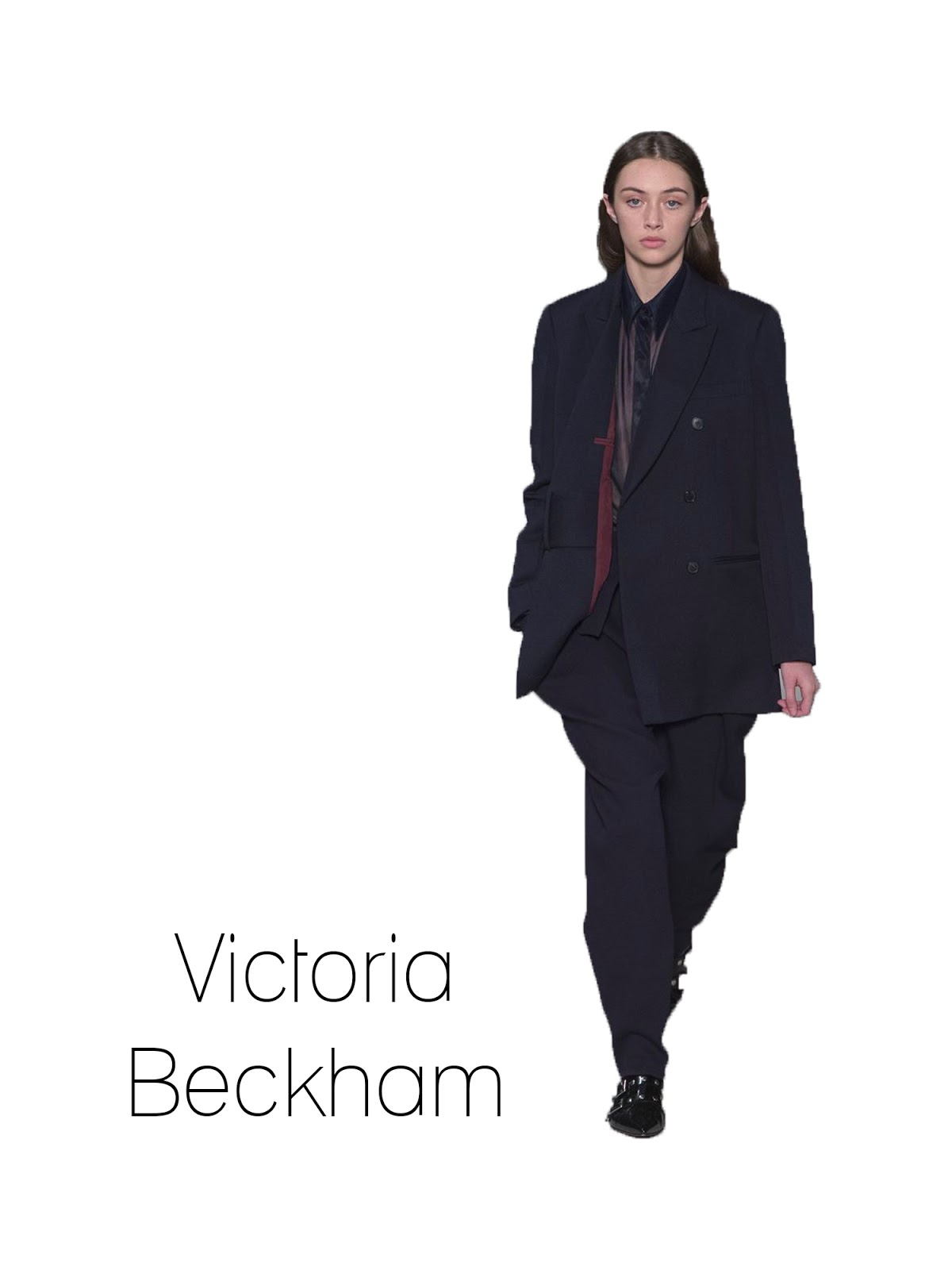 Autumn, Winter, 2017, 2018, trends, Victoria Beckham