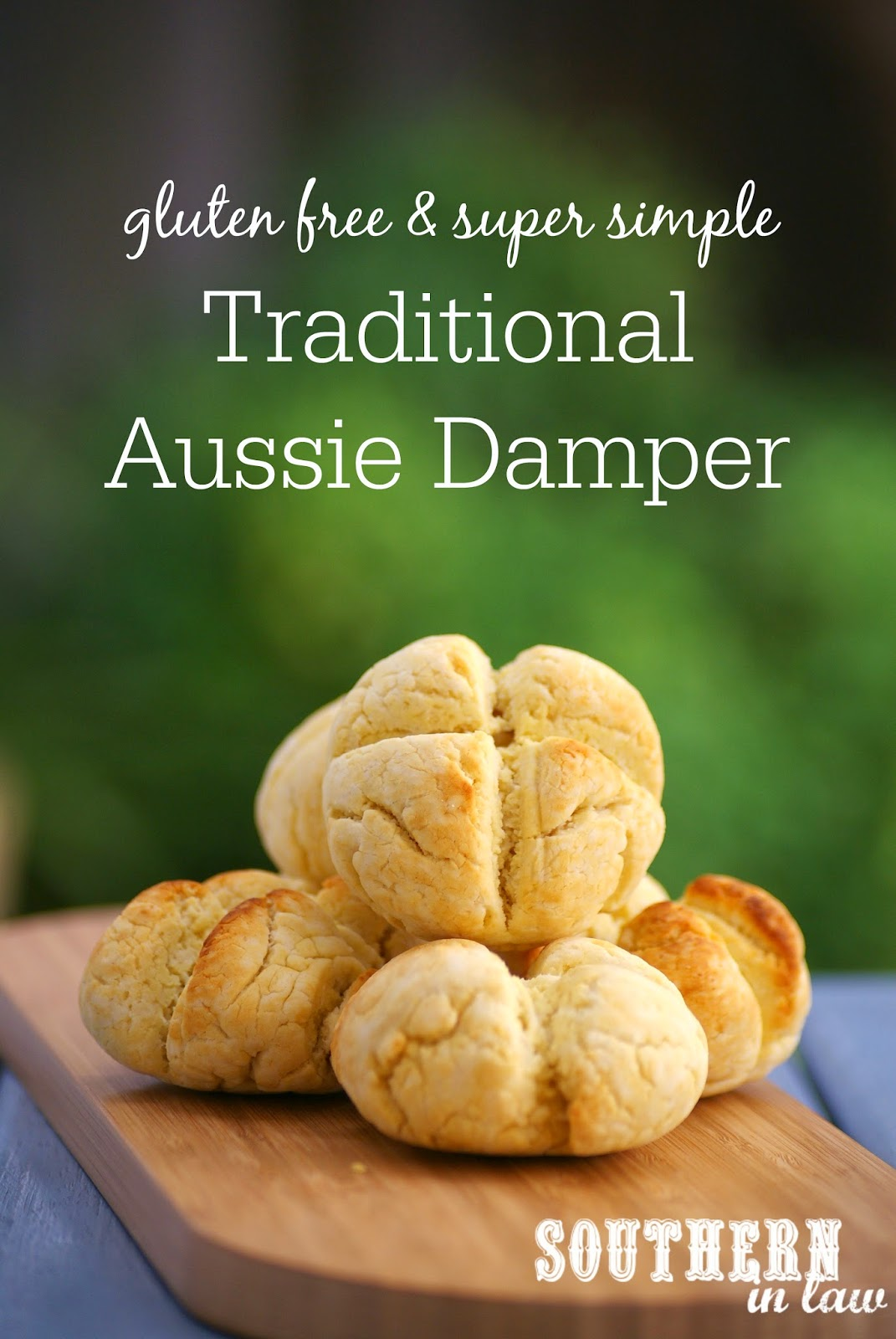 Gluten Free Damper Recipe - gluten free, egg free, clean eating friendly, Healthy Australian Recipes