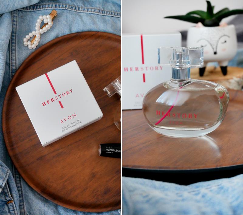 woda toaletowa, perfumy, avon, agnieszka dygant avon, herstory, zapach avon, perfumy avon