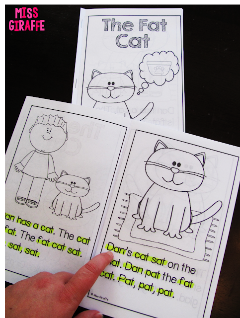 Short a reader and other great short vowels activities and resources - so many ideas on this post!