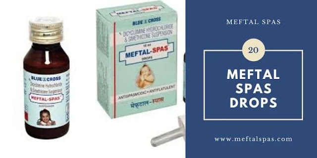 image of Meftal Spas Tablets, syrup & Drops