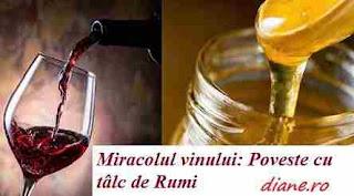 Miracolul vinului: Poveste cu tâlc de Rumi