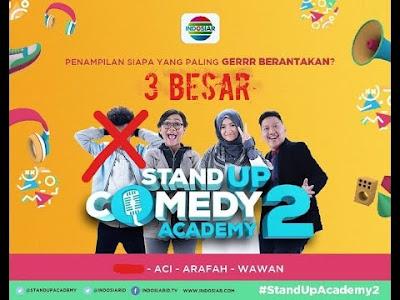 Nama Dan Biodata 3 Besar Grand Final Stand Up Comedy Academy 2  ( SUCA 2 )