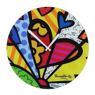 Presentes Criativos - Relógio Romero Britto