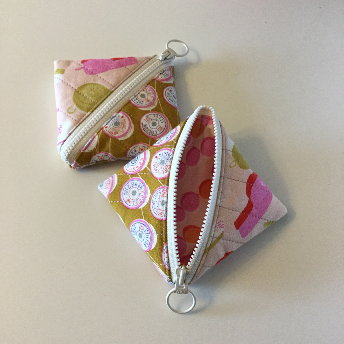 Half Square Triangle Pouch Tutorial