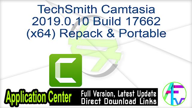 TechSmith Camtasia 2019.0.10 Build 17662 (x64) Repack & Portable