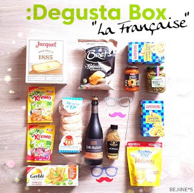 """Unboxing DegustaBox Juillet """"La Française"""""""