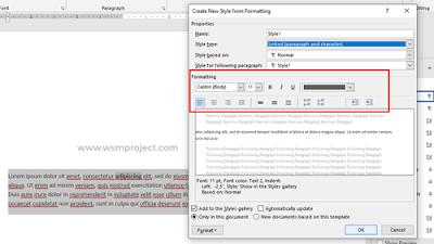 Cara Merubah Warna Teks Hyperlink  di Word